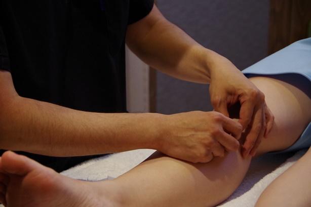 痛みや身体の負担が少ない施術